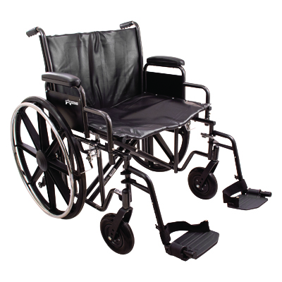 ProBasics K7 Extra Heavy Duty Wheelchair, 22 in x 18 in WC72218DS