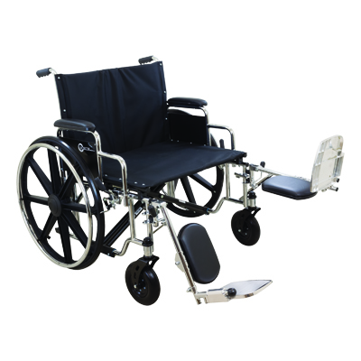 ProBasics K7 Extra Heavy Duty Wheelchair, 26 in x 20 in, 500lb Weight Capacity WC72620DE