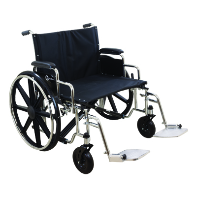 ProBasics K7 Extra Heavy Duty Wheelchair, 26 in x 20 in, 500lb Weight Capacity WC72620DS