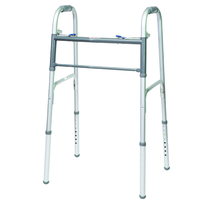 ProBasics Steel Adult Walker 2 Button without wheels 350 lb Weight Capacity WKSAN2B
