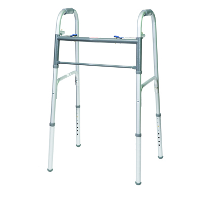 ProBasics Steel Junior Walker 2 Button without wheels 350 lb Weight Capacity WKSJN2B