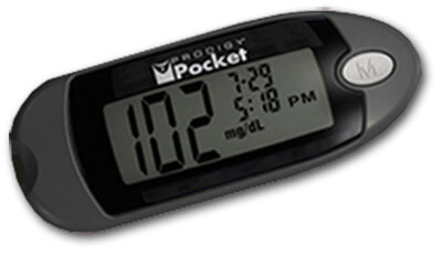 Prodigy Pocket Blood Glucose Meter, Black