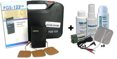 Pulsed Analog Galvanic Stimulator - PGS 123 plus Accessory Kit