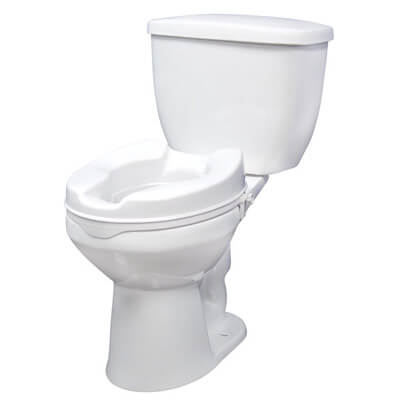 Drive Medical Raised Toilet Seat with Lock rtl12064