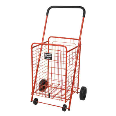 Drive Medical Red Winnie Wagon All Purpose Shopping Utility Cart 605r