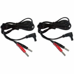 TENS Unit Replacement Lead Wires with Pin Connectors, 45 in - 2 ea