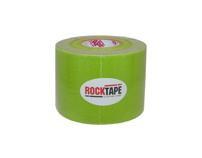 ROCKTAPE 2 X 16.4 ROLL - GREEN - 3 pack