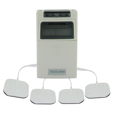 Roscoe Medical TENS-6000BN Deluxe TENS unit, with 5 mode output