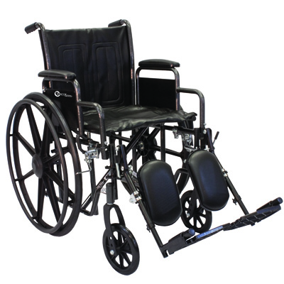Roscoe Medical K2-Lite Wheelchair Color: Powder-coated silver vein k2st1816dhrel