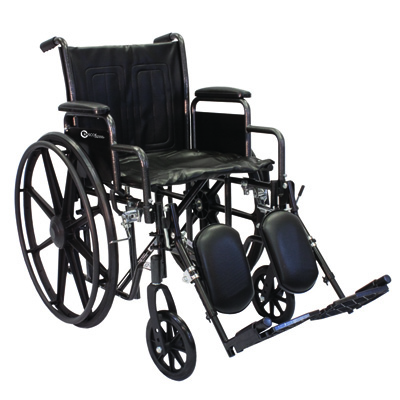 Roscoe Medical K2-Lite Wheelchair Color: Powder-coated silver vein k2st2016dhrel