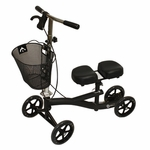 Roscoe Medical Knee Scooter Color: Black ROS-KSB