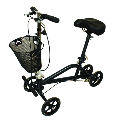 Roscoe Medical Knee Scooter Color: Black 30188