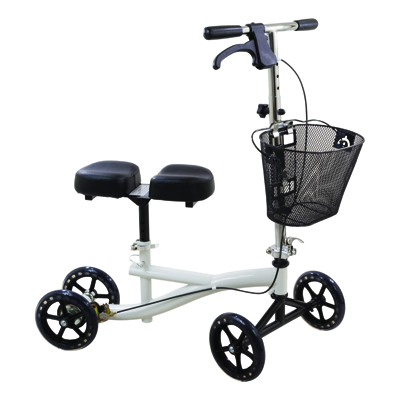 Roscoe Medical Knee Scooter Color: White