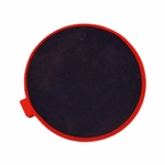 Roscoe Medical Poly Bag, 3 in Round, Red Rubber Electrode - 1 Pad