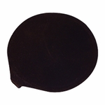 Roscoe Medical Poly Bag, 4 in Round, Black Rubber Electrode - 1 Pad