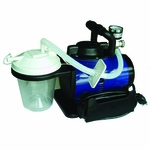 Roscoe Medical Heavy-Duty Aspirator Color: Blue/Black