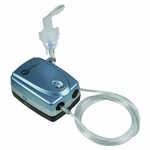 Roscoe Medical Portable Travel Nebulizer System Color: Blue/Gray/Black