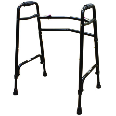 Roscoe Medical Two Button Walkers Color: Gray wkhd-600