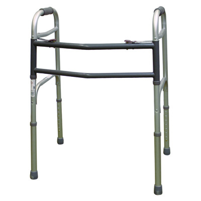 Roscoe Medical Two Button Walkers Color: Gray wk450n