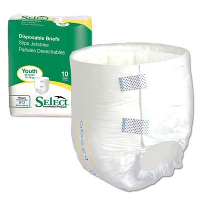 Select Disposable Briefs - Toddler - 3665
