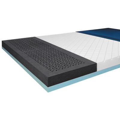 Drive Medical ShearCare 1500 Bariatric Dual Layer Pressure Redistribution Foam Mattress 76 x 42 Inch 1500sc-42-fb