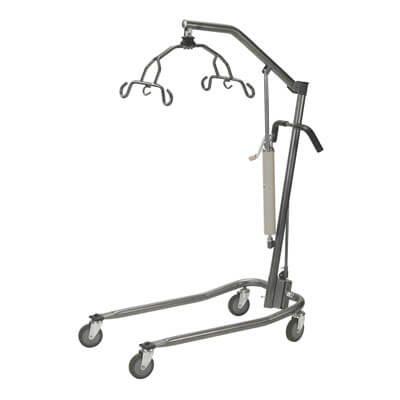 Drive Medical Silver Vein Hydraulic Patient Lift with Six Point Cradle 13023sv