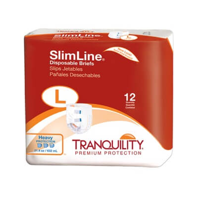 SlimLine Orignal Disposable Brief  - Large - 2132