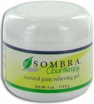 Sombra Cool Therapy Natural Pain Relieving Gel - 4 oz Jar