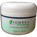Sombra Warm Therapy Natural Pain Relieving Gel - 8 oz Jar