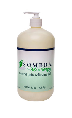 Sombra Warm Therapy Natural Pain Relieving Gel Pump Bottle - 32 oz