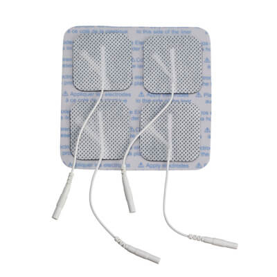 Drive Medical Square Pre Gelled Electrodes 1.75 in square for TENS Unit agf-101