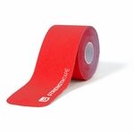 StrengthTape 5m (16.7) Roll of 20 Pre-Cut 10 in Strips - Red