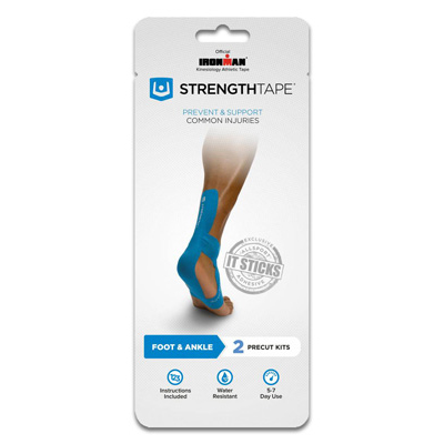 StrengthTape Precut Mini Packs - Ankle/Foot - 6300-AF