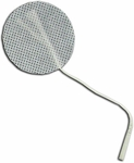 TENS Electrodes by BodyMed 2 in Round, White Mesh Backed - 4 Pads NPP618
