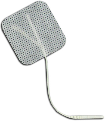 TENS Electrodes by BodyMed 2 x 2 in Square, White Mesh Backed - 4 Pads