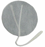 TENS Electrodes by BodyMed 3 in Round, White Mesh Backed - 4 Pads