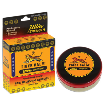Tiger Balm Ultra Pain Relieving Ointment - 1.7 oz