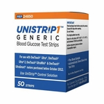 Unistrip 1 compares to One Touch Ultra, Ultra Smart Test Strips - 50 ea
