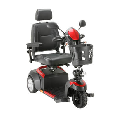 Drive Medical Ventura 3 Wheel Scooter with Captain Seat ventura320cs