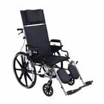 Drive Medical Viper Plus GT 16 inch Reclining Wheelchair with Desk Arms pla416rbdda