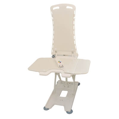 Drive Medical White Bellavita Auto Bath Tub Chair Seat Lift 477200252