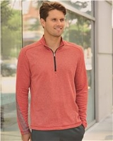 Adidas - Golf Brushed Terry Heather Quarter-Zip Jacket - A274 - 4 Colors - S-3XL