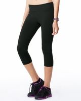 All Sport - Ladies Yoga and Fitness Capri Legging - W5009 - XS-2XL - 5 Colors