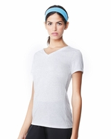 All Sport - Ladies Triblend Short Sleeve V-Neck T-Shirt - W1105 - S-2XL - 6 Colors