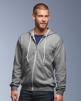 Anvil - Full-Zip Hooded Sweatshirt - 71600 - 7 Colors - S-3XL