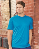 Badger - B-Core T-Shirt with Sport Shoulders - 4120 - 22 Colors - S-3XL