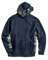 Badger - Digital Camo Colorblock Hooded Performance Sweatshirt - 1464 - 6 Colors - S-3XL