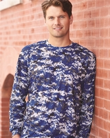 Badger - Digital Camo Long Sleeve T-Shirt - 4184 - S-3XL - 6 Colors