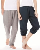 Bella + Canvas - Unisex Long Scrunch Fleece Pant - 3737 - XS-2XL - 4 Colors
