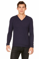 Bella + Canvas - Unisex V-neck Lightweight Sweater - 3985 - 4 Colors - XS-2XL